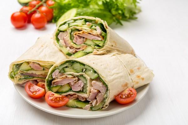 Avocado Chicken Wrap