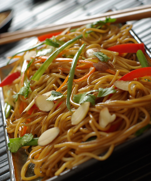 Vegetable Lo Mein Chinese Food Nutrition