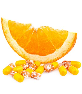 Is taking a vitamin C pill an alternative to drinking orange juice?