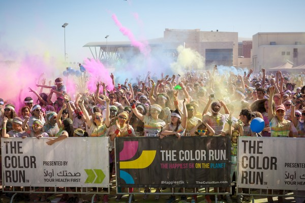 Community comes together to embrace The Color Run's Doha debut