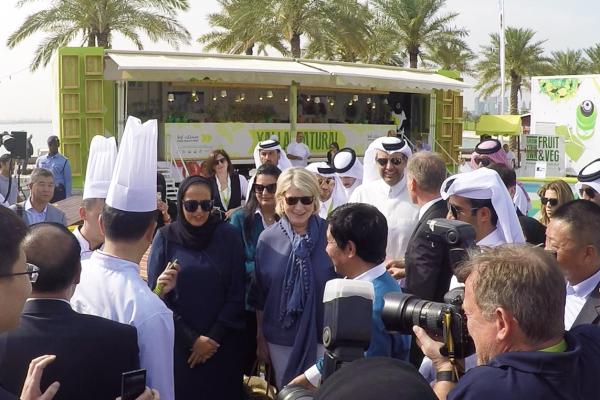Sahtak Awalan at Qatar International Food Festival