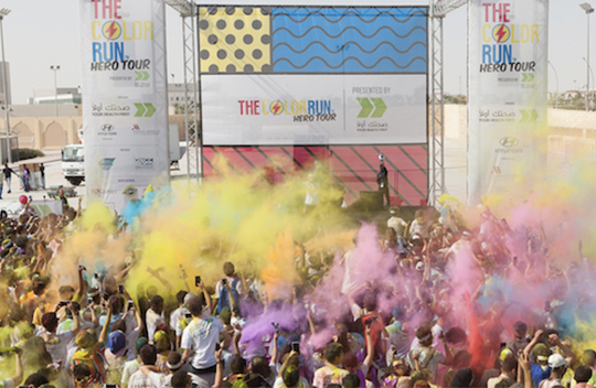 The Color Run breaks records for the fifth year in a row with over 10,000 runners