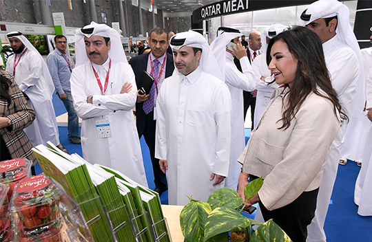 Khayr Qatarna showcased at Agriteq exhibition highlighting innovation in agriculture