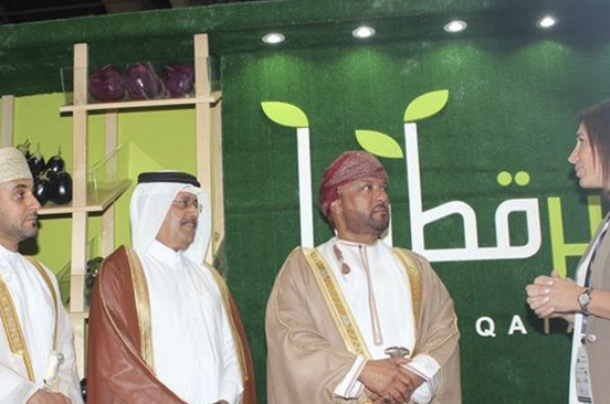 Khayr Qatarna showcased at Agro-Food Oman expo