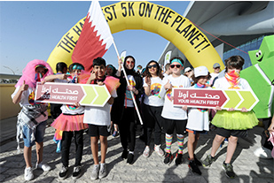 The Color Run Presented by Sahtak Awalan: Your Health First Finishes its 6th Edition with a Sold Out Event.